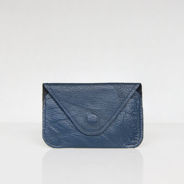 Dark blue/Navy minimalist card wallet
